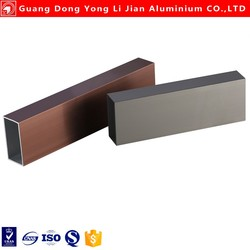 Various types of 6061 6063 alloy aluminium extrusion hollow section