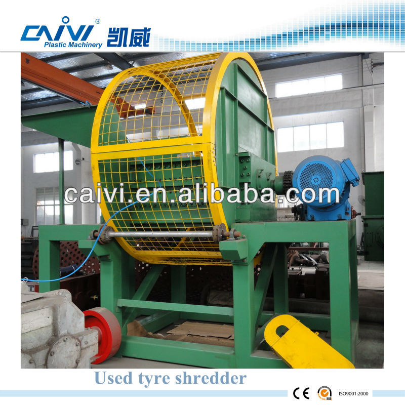 Used Tire Shredder