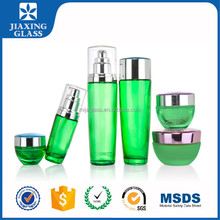New Type Empty Glass Bottles Packaging For Cosmetic With Plastic Cap
