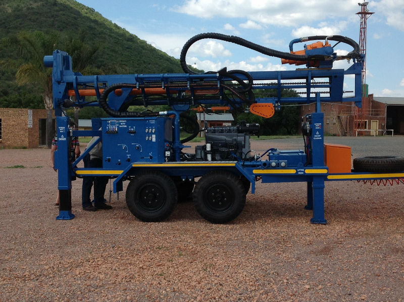 LC 150 Water Well Drill Rig (DTH)