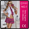 2015 Sunspice Lingerie wholesales hot sale and newest school girl sex costume