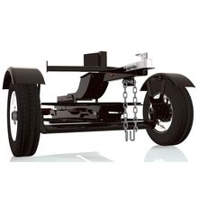 Single rail towing tilt bed hauling fold up transporting travel motorbike trailer with wheels