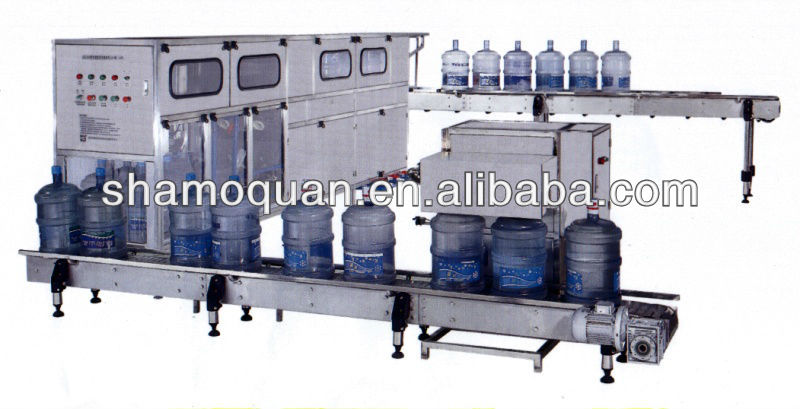 Automatic 300B/H Water filling production line for 5Gallon