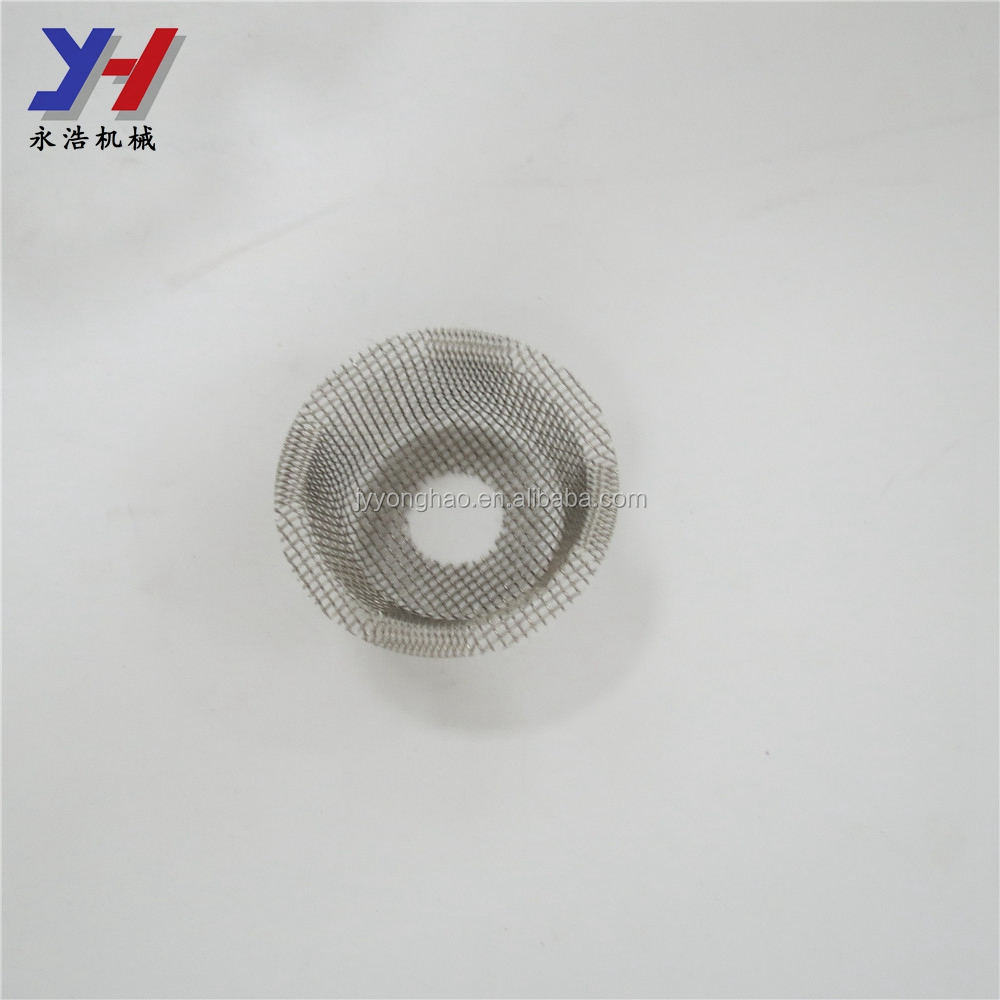 OEM ODM precision round metal filter/stainless steel round metal filter