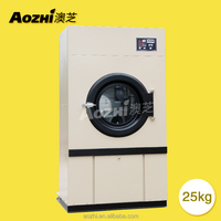 HG-25 commercial clothes dryer tumble gas drying machine laundry equipment electric dryer