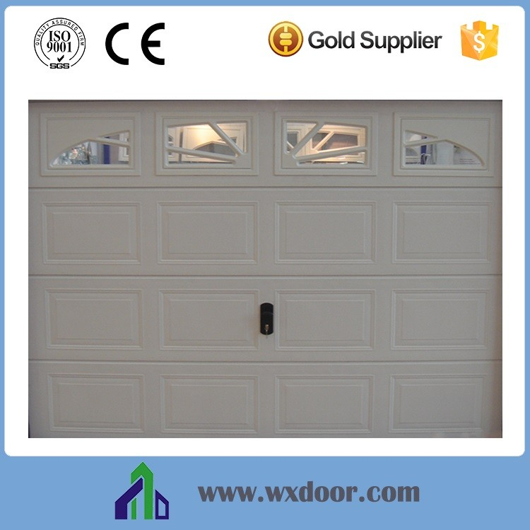 double steel garage door / commercial double steel door / stainless steel door