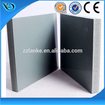 Recycle 30 times Construction Metal Concrete Formwork 22mm Tickness White Pvc Foam Board For Construction Formwork