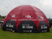 Factory directly sell big inflatable down tent for outdoor event N5204