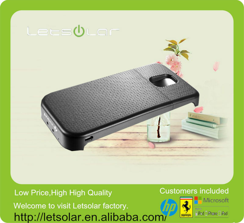 2014 China new product portable battery charger case for samsung galaxy s5 for samsung galaxy s3