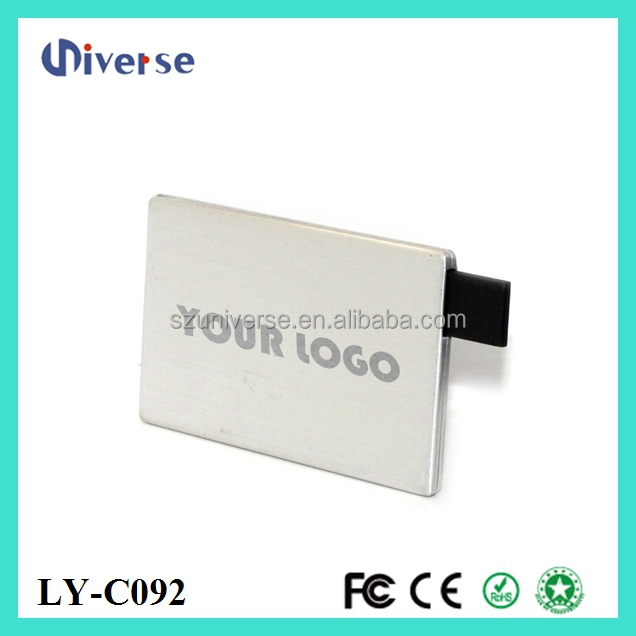Hot sell in UK usb credit card,usb flash drive card,blank credit card usb