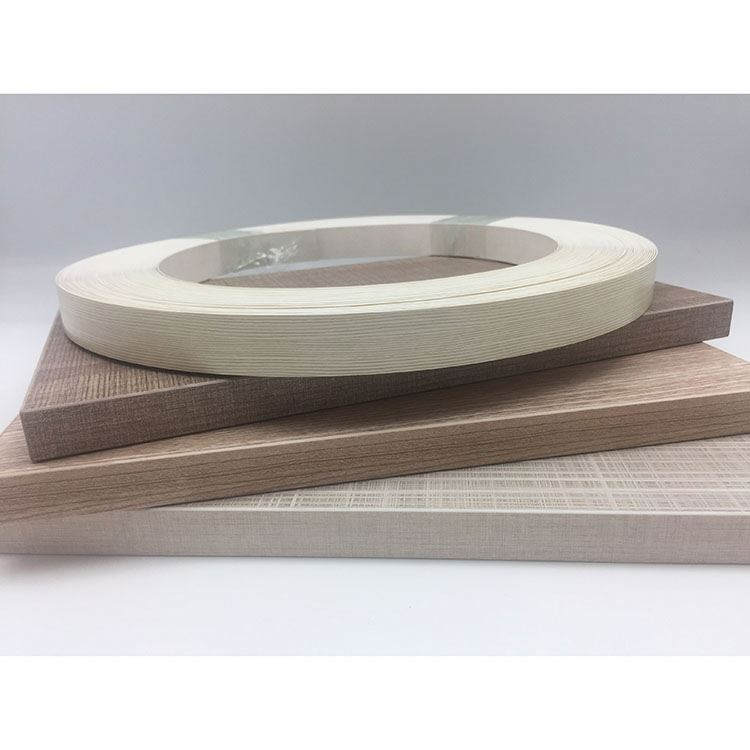 High gloss wooden color PVC edge banding