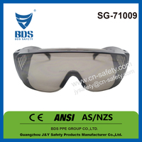 Workplace pc side shield safety glasses Taiwan ce en166 and ansi z87.1 safety glasses