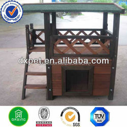 Wooden breeding cage cat