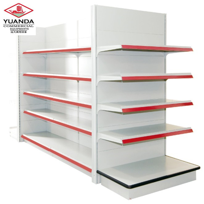Vendor Display Rack Supermarket Snack Shelves/Adjustable Steel Shelving Storage Snack Rrack Shelves