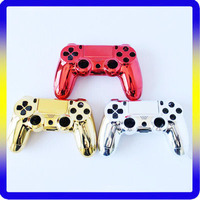 Newest Housing Chorme Red Replacement Shell for PS4 controller
