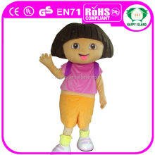 HI CE High Quality dora mascot costume for sale