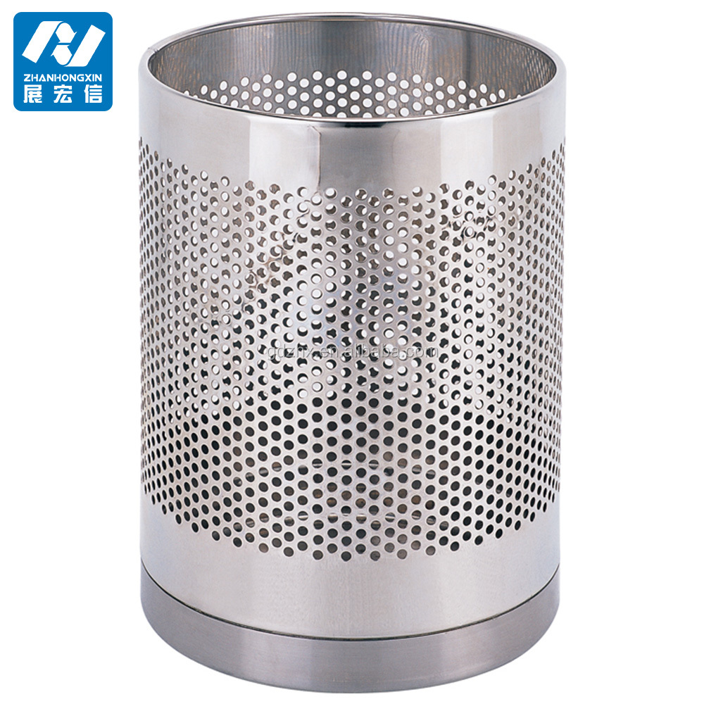 Stainless Steel trash can&Dustbin&waste receptacle