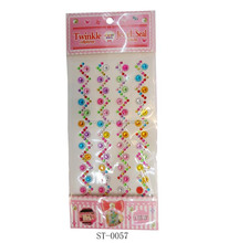 Twinkle jewel seal for mobile phone