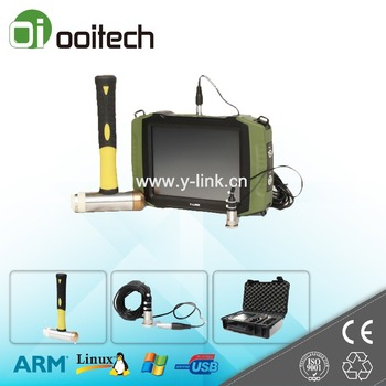 Wuhan Ooitech hot selling portable digital ultrasonic detector pile plate load tester