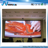 Indoor P5 Full Color Fixed LED Advertising Digital Display Board