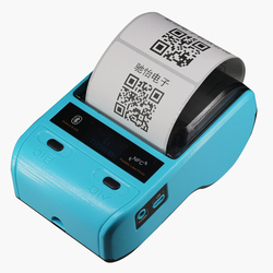 Portable Mini 58mm Bluetooth 2.0 Android &IOS POS Receipt Thermal Printer Bill portable bluetooth Label Printer