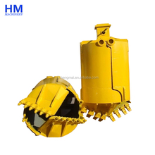 High Quality Centrifugal Soil Drilling Bucket with Open Body