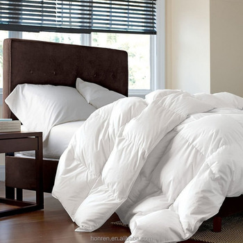 pure soft 50% down comforter duvet inner for home and hotel at high quality baffle box