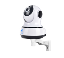 hot sale mini wifi camera 3.6mm lens ptz ip camera 720p 1mp wifi cctv camera auto night vision motion detection and alarm