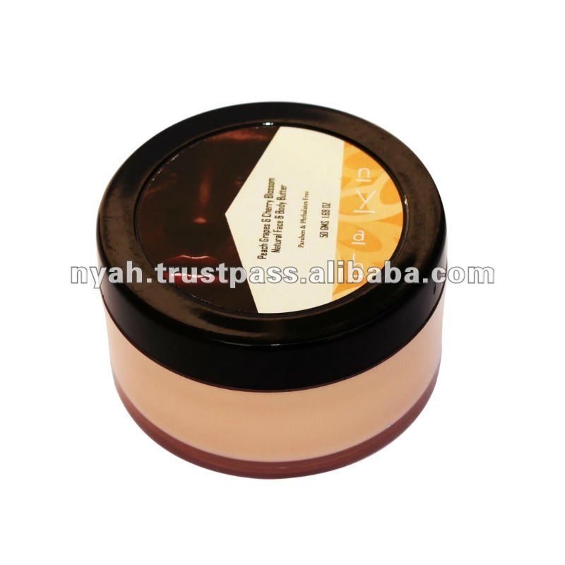 Low Price High Quality Peach Grapes & Cherry Blossom Natural Face & Body Butter