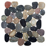 Colorful outdoor garden Cobble pebble Stone