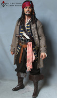 Excellent Quality of Pirate Captain Jack Life Size Action Figure for Museum