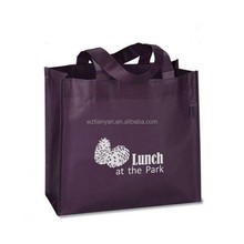 non woven polypropylene tote bag wine tote bag for reusable shopping bag in China