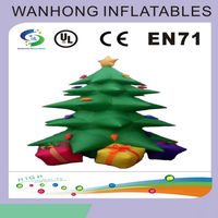 Customized inflatable model , vivid inflatable Christmas tree on sale