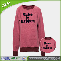 Basic Men's Fleece Pullover Hoodies & Sweatshirts Custom Printed With Red Design Autumn Hoodies Without Hood