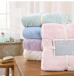 Customized high quality bath towel with gift box