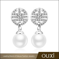 OUXI new fashion good made jewelry 2015 top design earrings