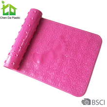 Hot selling plastic baby changing mat heated bath mats