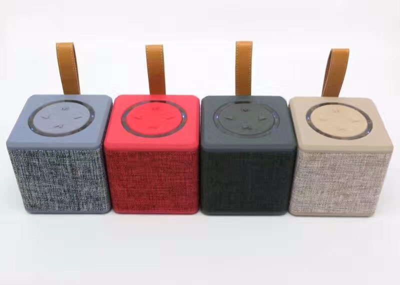 Wireless Bluetooth Speaker Cloth Fabric speaker