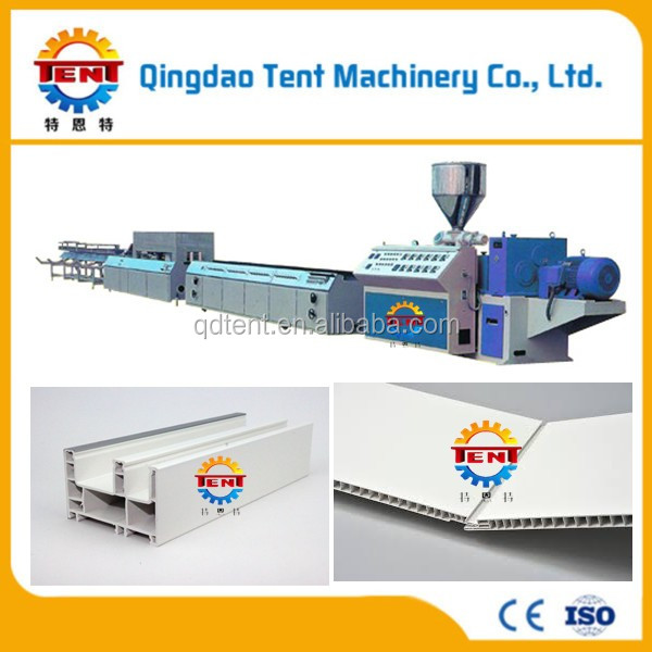 pvc angle board making line/angle board production