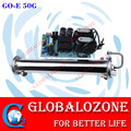 Water cooled enamel ozone tube adjustable ozone generator spare parts