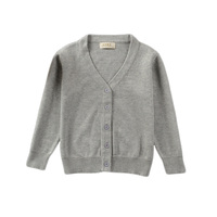 100% Cotton Newborn Baby Knitted Sweater Cardigan for Baby Girl