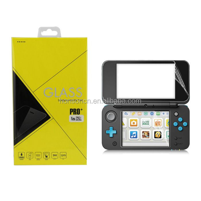 New Products 2017 Innovative Product Game Product Glass Screen Protector For NEW 2DSLL Console