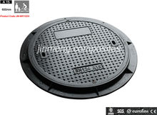 gas frp cover locking manhole cover and frame with low price