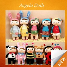 New 2015 30cm Lovely Stuffed Cloth Doll Plush Toy Metoo Rabbit angela Doll For Christmas Girl Birthday Gift CLAD-012