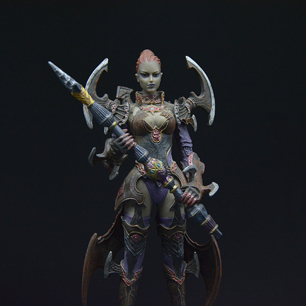 Customizes Unique Action Adventure Online Game Figure Statue