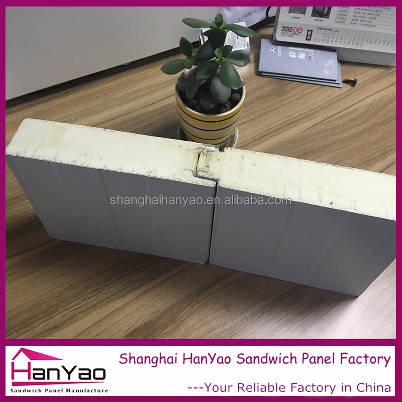 Light Weight EPS PU Foam Sandwich Wall Panel Steel The Prefab House Polylol System for PUR Sandwich Panel Polyurethane Price