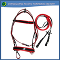 2017 New Full PVC Horse Bridle and Racing Rope
