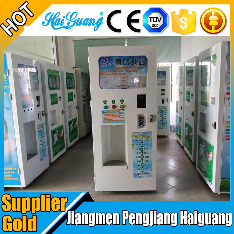 High quality mineral water vending machines in schools