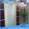 Social modern bathroom office toilet glass partition wall