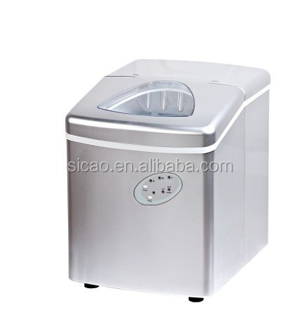 2016 new model home appliance high quality white color design bullet ice maker